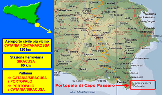 Come Arrivare A Portopalo Di Capo Passero Siracusa